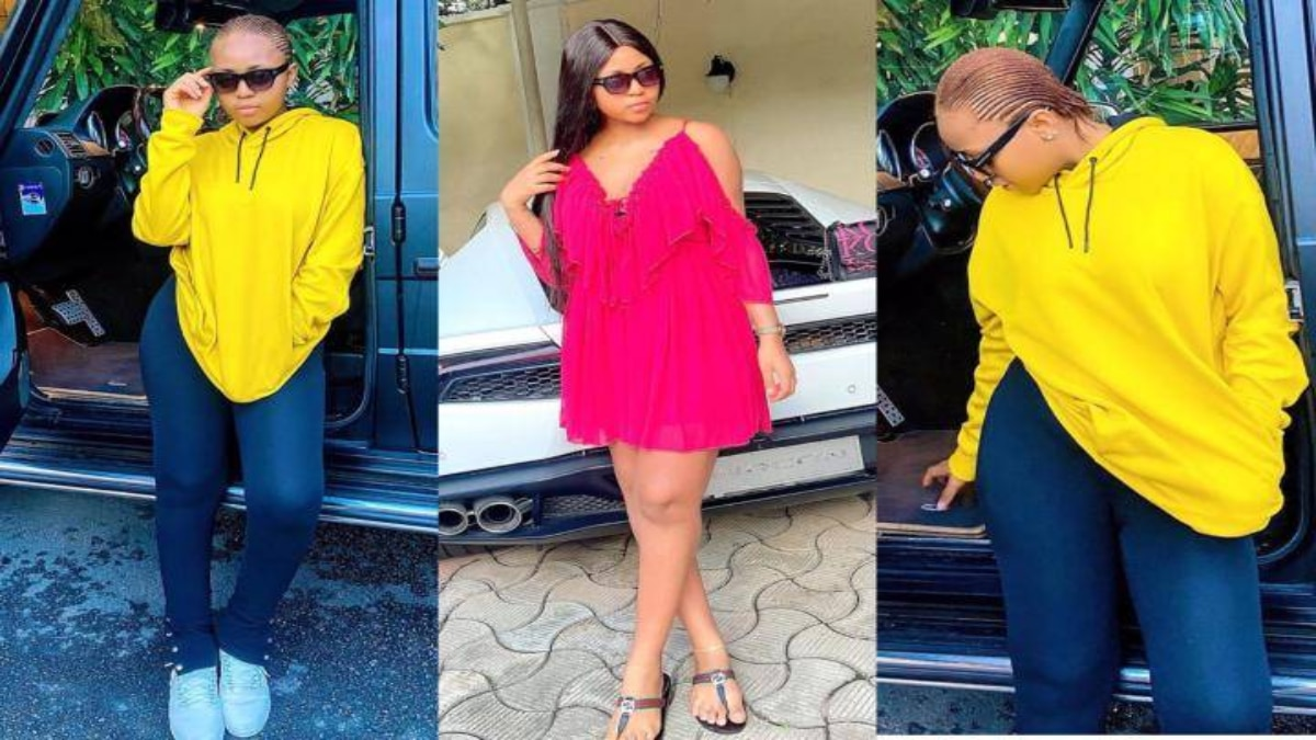 Photo of 'Money is good oh' – See reactions as Regina Daniels shows off her body few weeks after giving birth