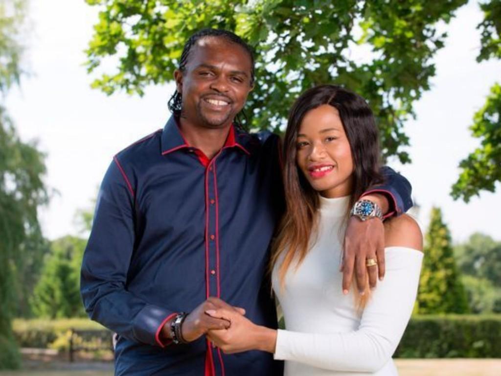 Nwankwo Kanu and wife