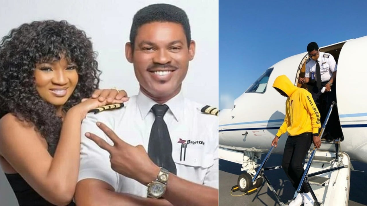 Photo of 'Na man you be' – Actress, Omotola Jalade appreciates her husband after he did this for their children
