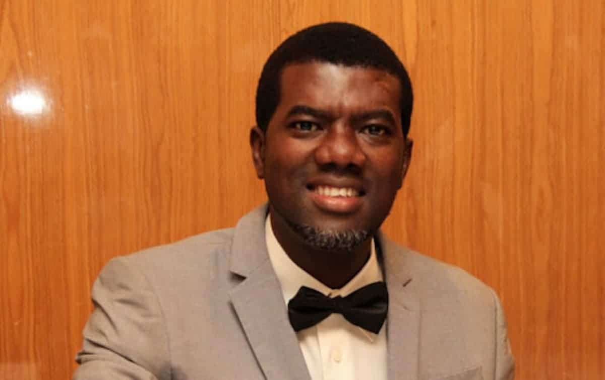 Photo of Drinking alcohol is not a sin, drunkenness is – Reno Omokri
