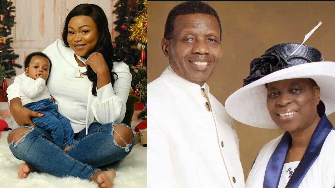 Photo of Nollywood actress, Ruth Kadiri reacts to Pastor Adeboye's marriage advice on his wife's birthday