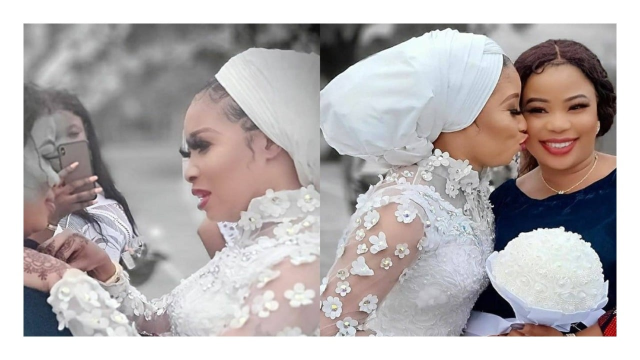 Photo of Seyi Edun plays chief bridesmaid at Lizzy Anjorin's wedding (photos)