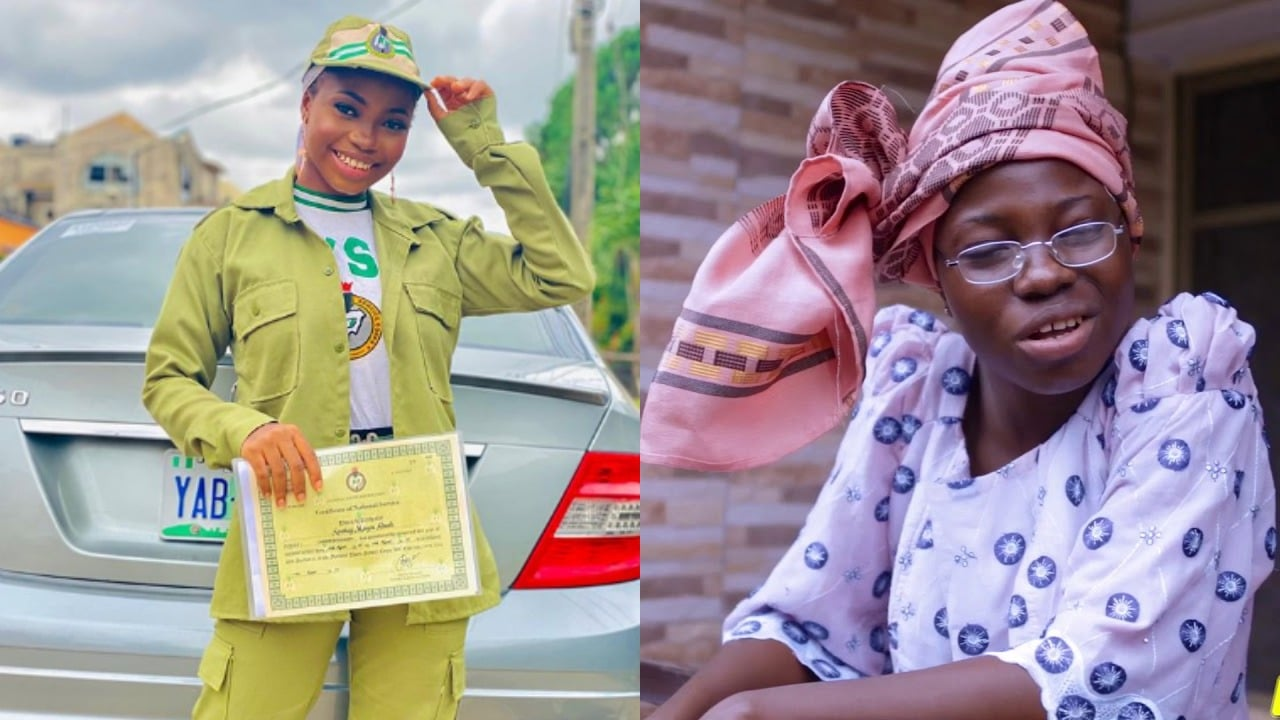 Taaooma celebrates NYSC passing out
