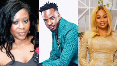 Photo of 9ice's ex-wife, Toni Payne all loved up with his new wife, Sunkanmi Ajala on Instagram