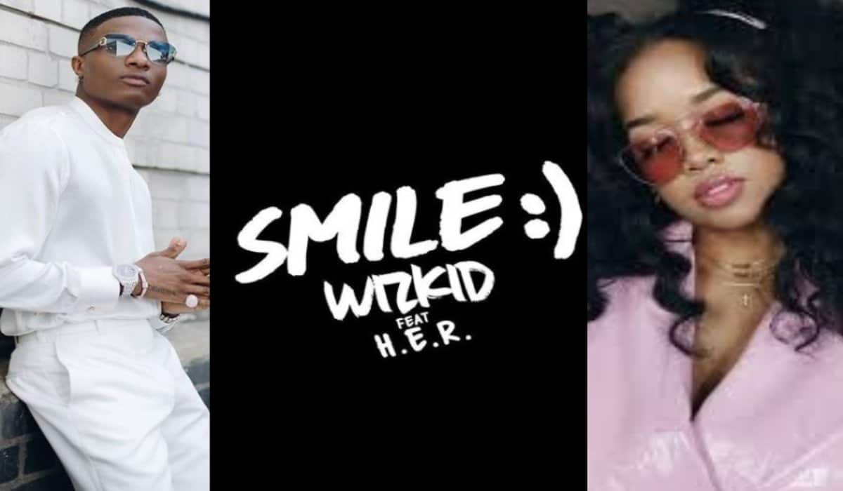 Photo of Music & Lyrics: Wizkid ft. H.E.R – Smile