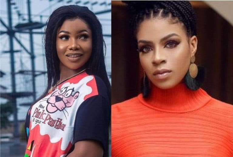 Photo of Tacha praises Venita Akpofure for divorcing her husband despite having two kids for him