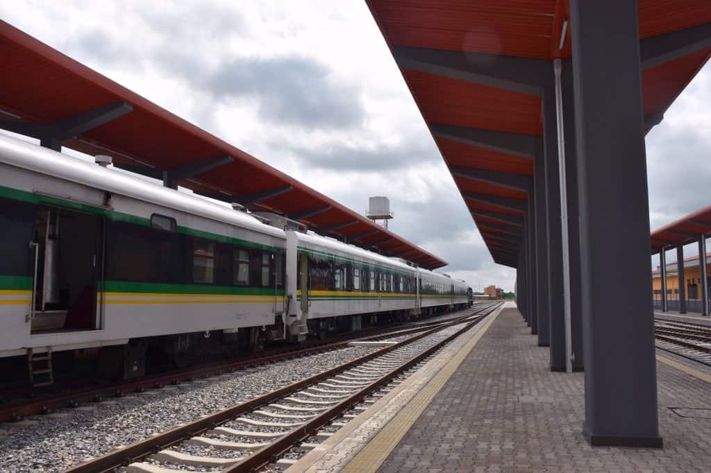 Photo of Photos of the Itakpe-Warri railway complex Buhari named after Goodluck Jonathan