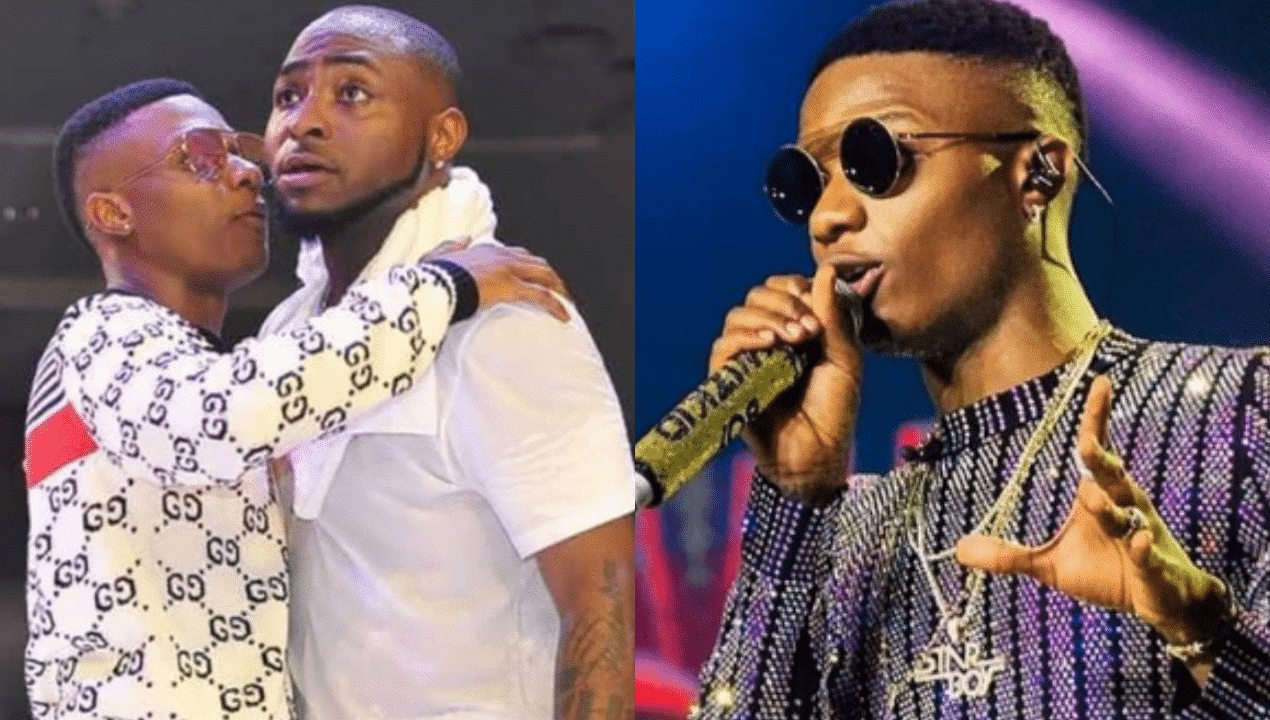 "Photo of ""I Love you"", Davido passionately pours encomium on Wizkid 