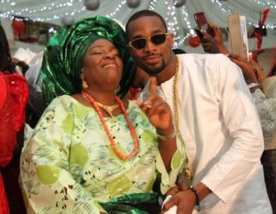 Photo of Dbanj celebrates his mother on her birthday, shares heart warming message