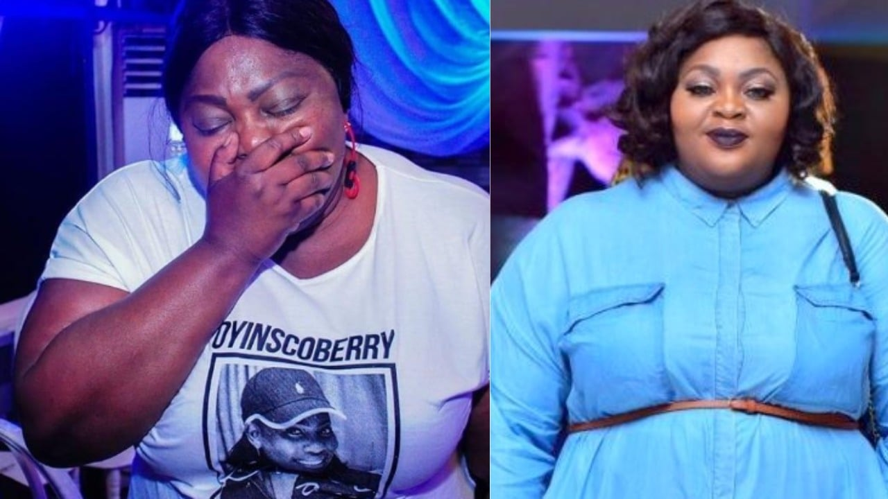 Photo of 'I don't want to be fat and unhealthy' – plus size Nollywood actress, Eniola Badmus cries out