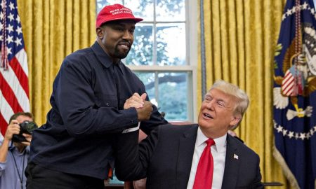 Kanye West and Trump