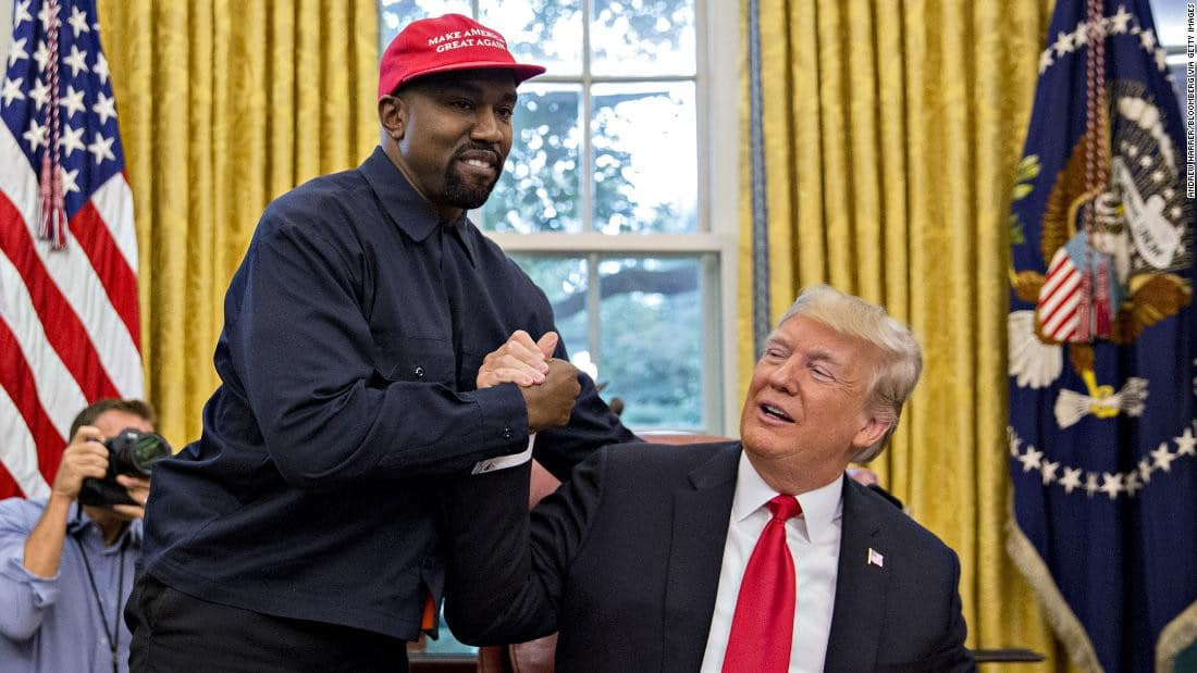 Photo of 2020 US election: Trump reacts as Kanye West declares to run against him
