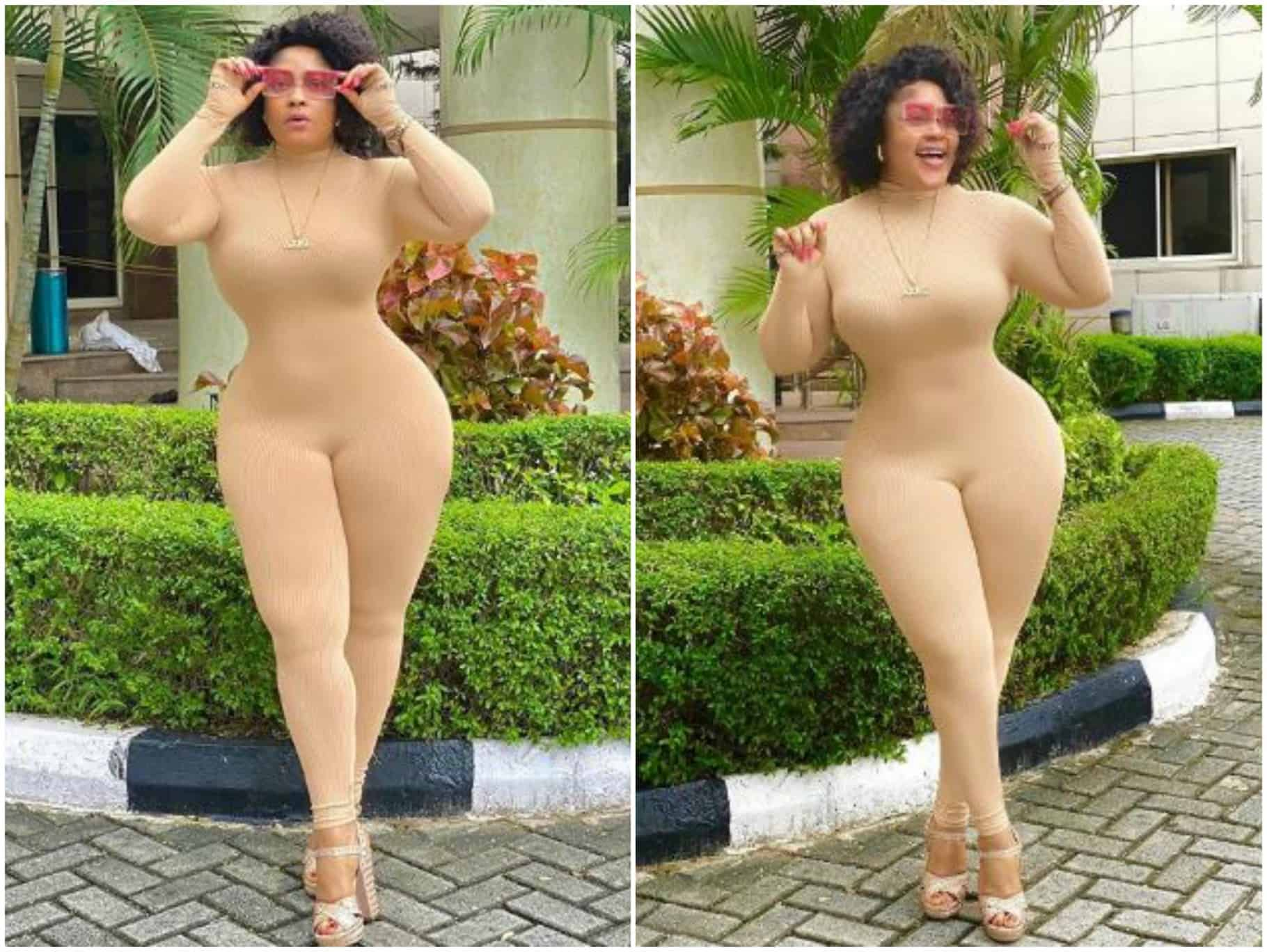 Photo of What Nigerian actress, Omoborty did to troll who body shamed her