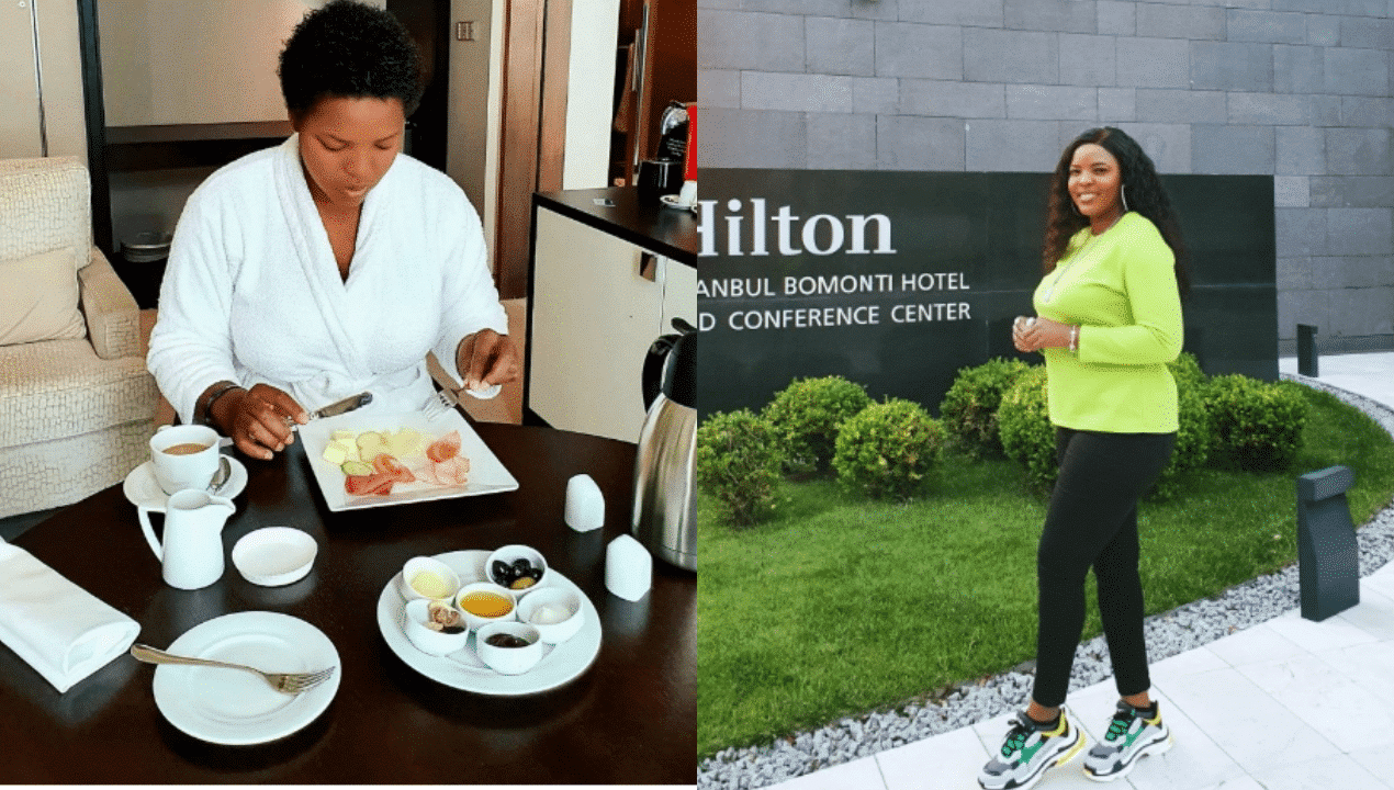 Photo of Nigerian singer Princess Peters shares adorable photos from vacation in Turkey