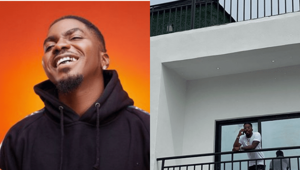 Photo of Shina Peller, Zlatan Ibile, Kizz Daniels and others celebrate Skiibii as he gifts himself a new house