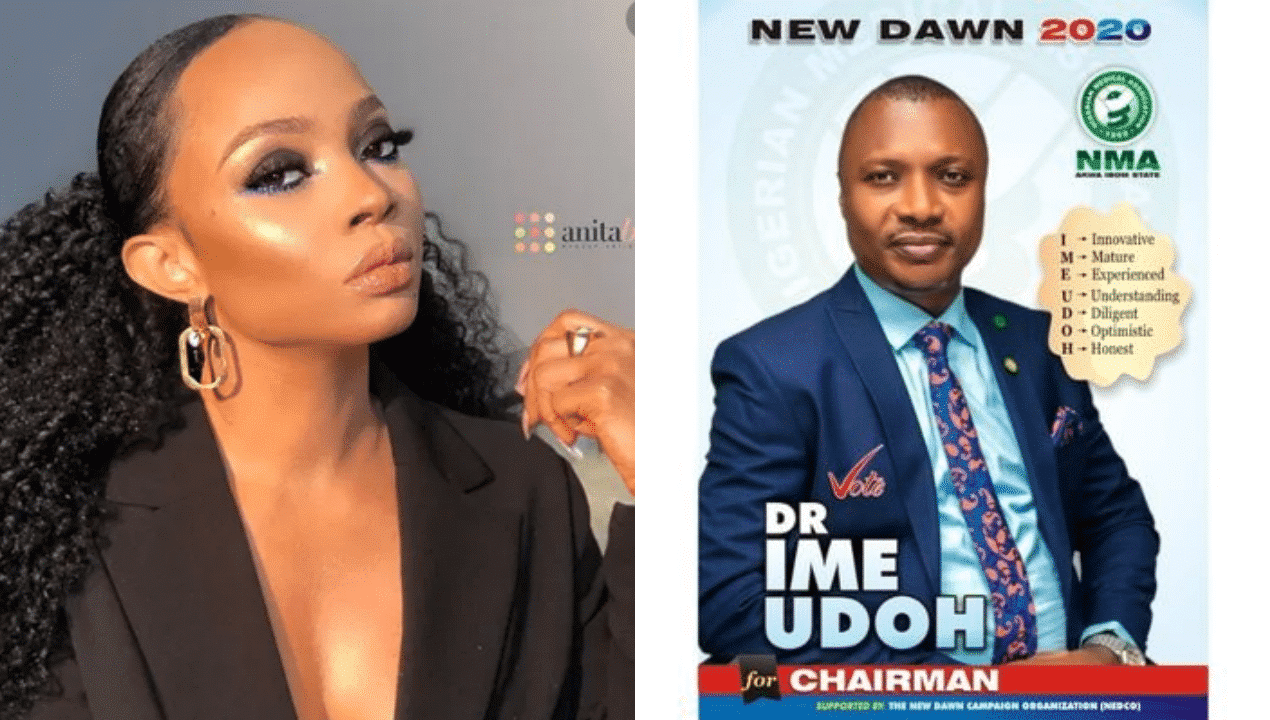 Photo of Toke Makinwa drags life out of a medical doctor who trolled her