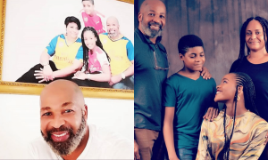 Yemi SOlade and family