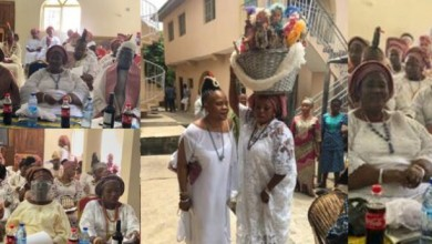 Photo of Nigerian witches and wizards converges for August meeting (photos)