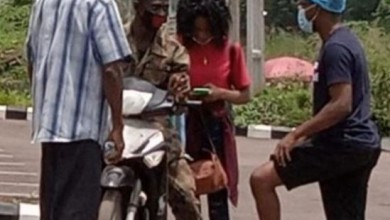 Photo of Love at isolation center: discharged lady snubs father, goes home with new lover