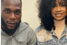 "Photo of ""Besides chocolate, you're my favorite"" – Tacha says as she meets Burna Boy (photos)"