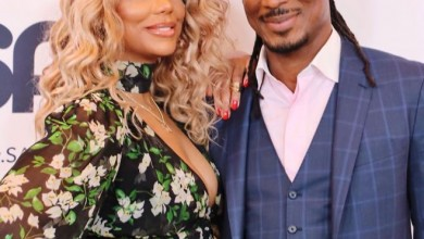 Photo of American singer, Tamar Braxton thanks 'Her Angel' David Adefeso for saving her life during suicide attempt