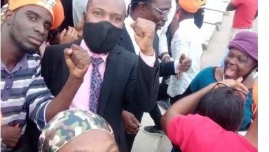 Photo of RevolutionNow: Agba Jalingo, others regains freedom (photo)