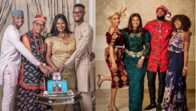 Photo of BBNaija: Prince's family celebrate his birthday in style (photos)