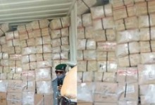Photo of Police intercept 40-foot container filled with Tramadol and Codeine in Lagos (photo)