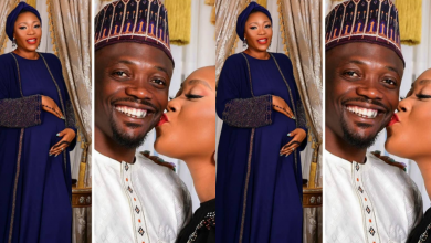 Photo of Popular footballer, Ahmed Musa and his second wife, Julie, welcome baby boy