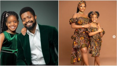 Photo of Basketmouth and wife mark daughter's birthday in most beautiful way (photos)