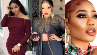 "Photo of Popular cross dresser, Bobrisky 'brutalizes' Toyin Lawani for dragging Nengi, calls her an ""old woman"""