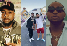 Photo of Jubilation as popular singer, Davido receives honorary plaque after his album hits 1 billion streams