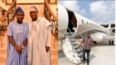 Photo of Sensational singer, Davido's billionaire father  acquires another private jet