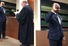 Photo of Meet Edirin Okoloko, the UNIBEN graduate who was sworn in as a judge in the US