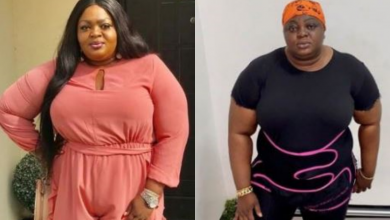 Photo of Actress, Eniola Badmus begins weight loss journey, shares back-breaking drills