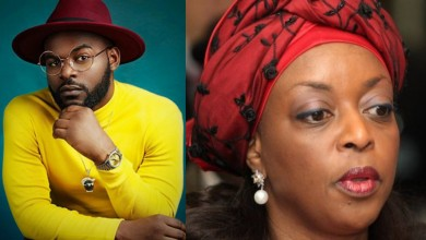 Photo of Diezani Madueke mocked by Falz and other Nigerian celebrities for saying Yahoo Yahoo boys are now role models