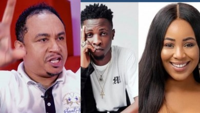 Photo of Daddy Freeze reacts to Laycon's endless and undying love for Erica