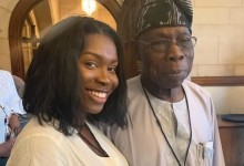Photo of Lady recounts how she took advantage of a meeting with Obasanjo and appointed herself his PA