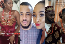 Photo of Ozo's elder sister, Ugy marries her long time lover, Emeka