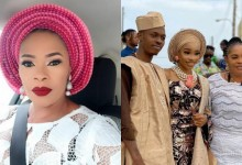 Photo of Remi Surutu's daughter receives pleasant surprise from lover after wedding introduction (photos)