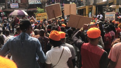 Photo of Agba Jalingo, others arrested at Revolution Now protest in Lagos (VIDEO)
