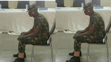 Photo of Soldier sentenced to 55 years imprisonment for killing, robbing a WHO staff