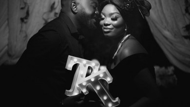 Photo of Omotola and Mr Tunji's perfect pre wedding album