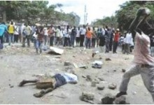 Photo of 60 year old man stoned to death for molesting a 12 year old girl