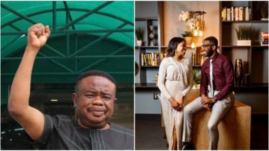 Photo of Tony Okoroji fails to show up at daughter's wedding (Details)