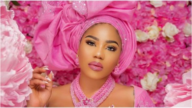 Photo of Toyin Lawani throws shade at BBNaija female housemate, who did cosmetic surgery and dated her baby daddy