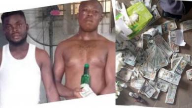Photo of Igbo men engaged in fake dollar scamming arrested in Ogun (Photos)