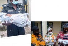 Photo of Two nurses caught stealing a newborn baby in Katsina