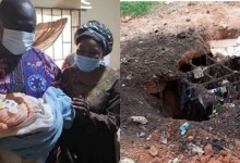 Photo of Miracle! How newborn baby dumped in pit was rescued alive (Photos)