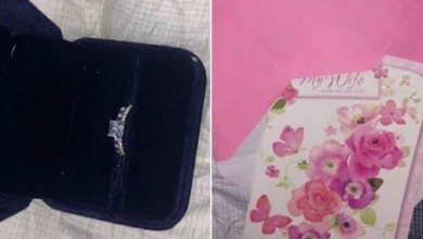 Photo of PHOTO: Man sends ring and proposal letter through courier company to ask for his lover's hand in marriage